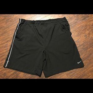 Nike Fit-Dry Large Black Athletic Shorts Like New